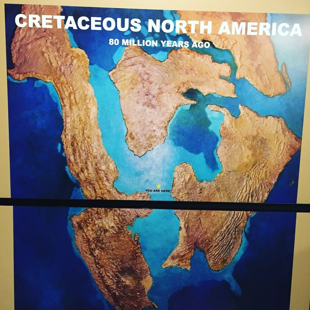 Cretaceus Map