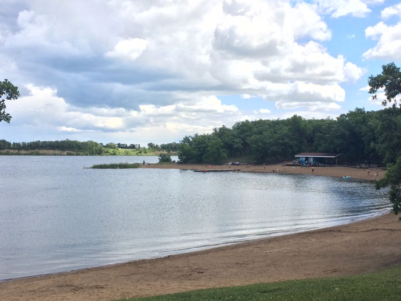 Colert Beach at Lake Minnewasta