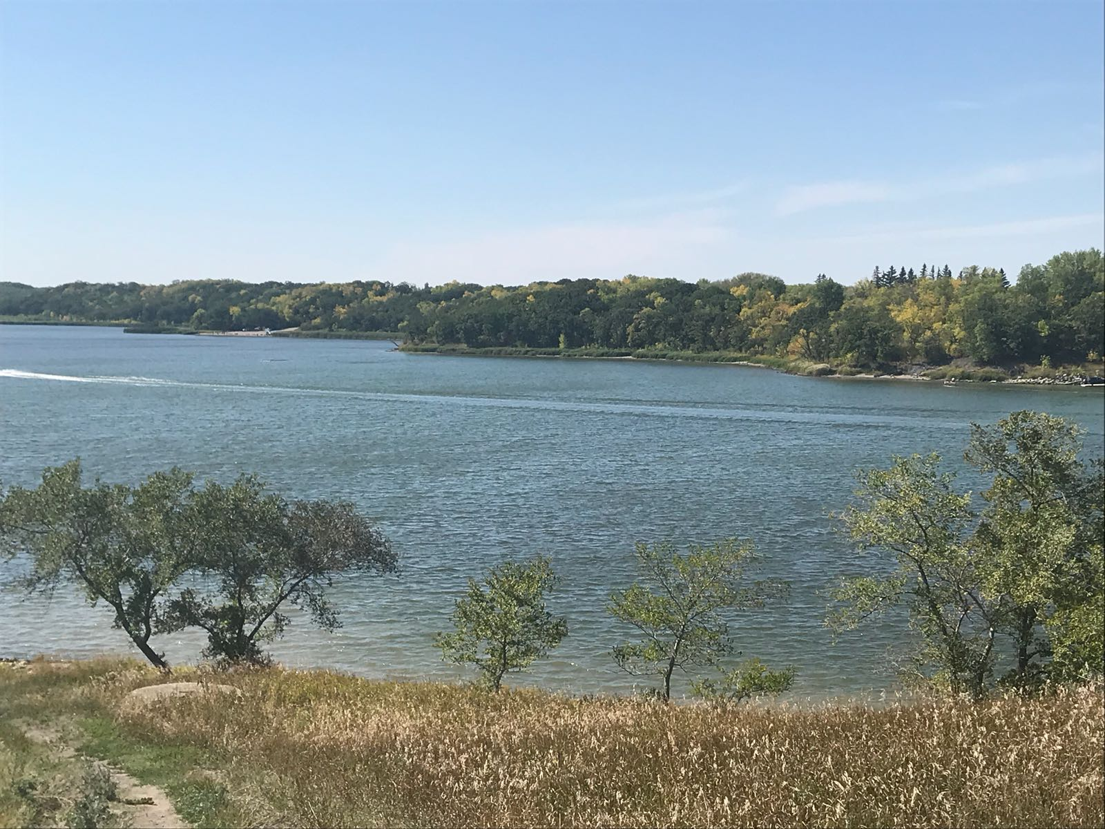 Lake Minnewasta in Morden