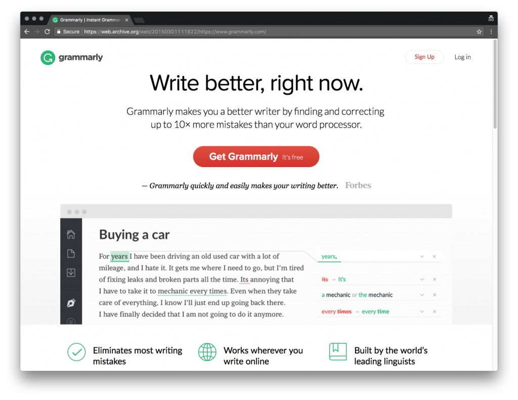 Improve Your English Skills With Grammarly