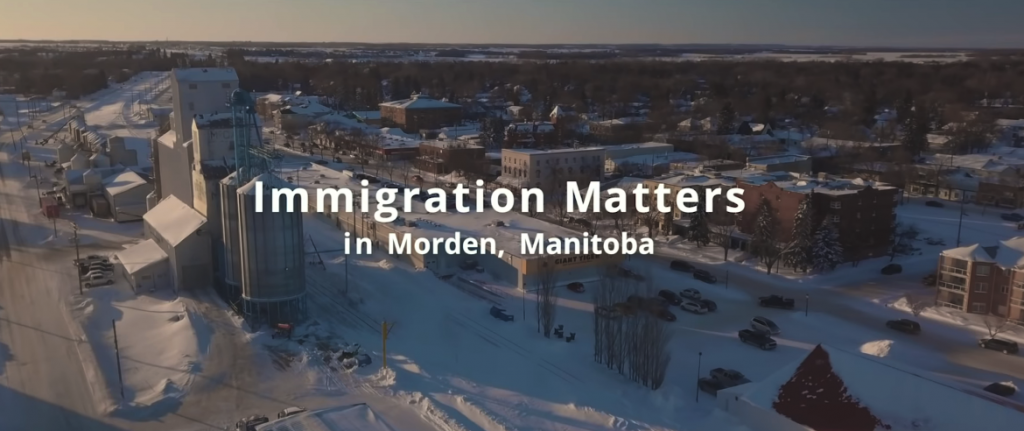 Morden Immigration Program Wins Promo Video